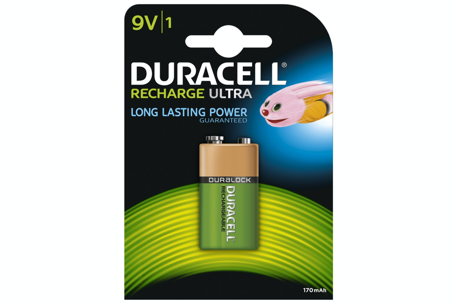 Duracell Rechargeable Ultra 9V Battery | 1 Pack
