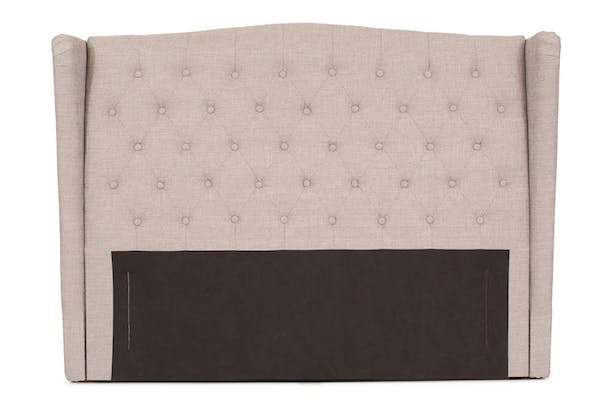 Duval Headboard | Winged Grey | 4ft6