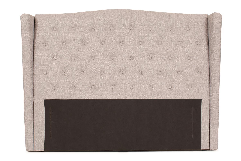 Duval Headboard | 5Ft | Winged Grey