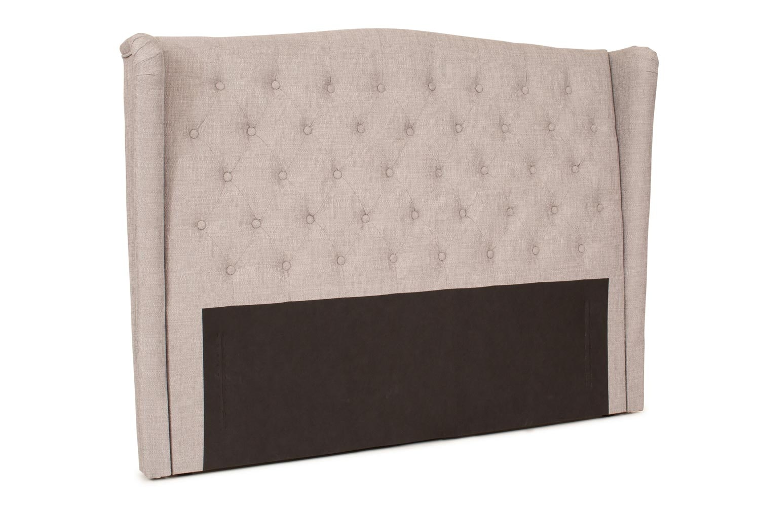 Duval Headboard | 5Ft | Winged Grey