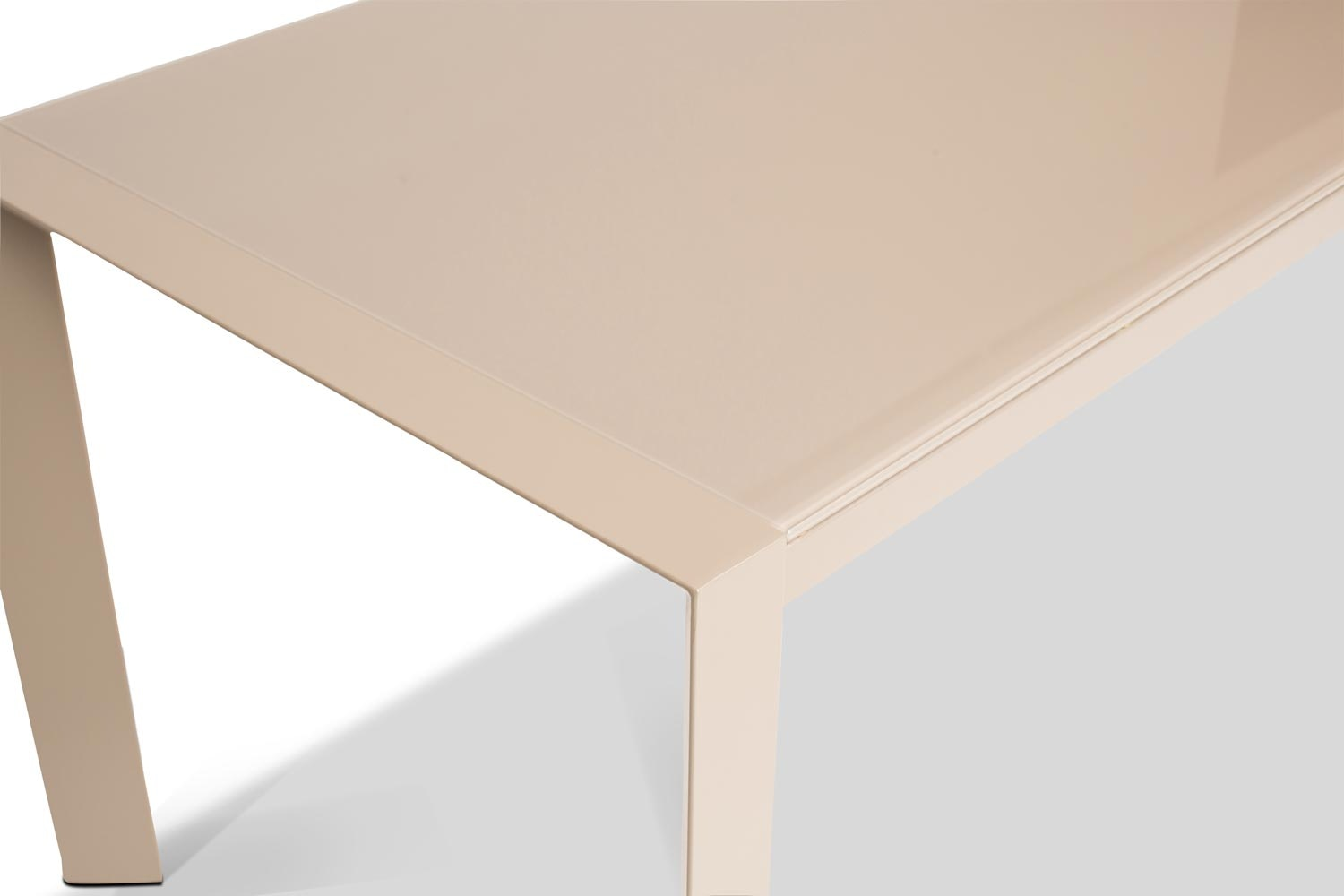 Slide Extending Dining Table 122cm | Sand