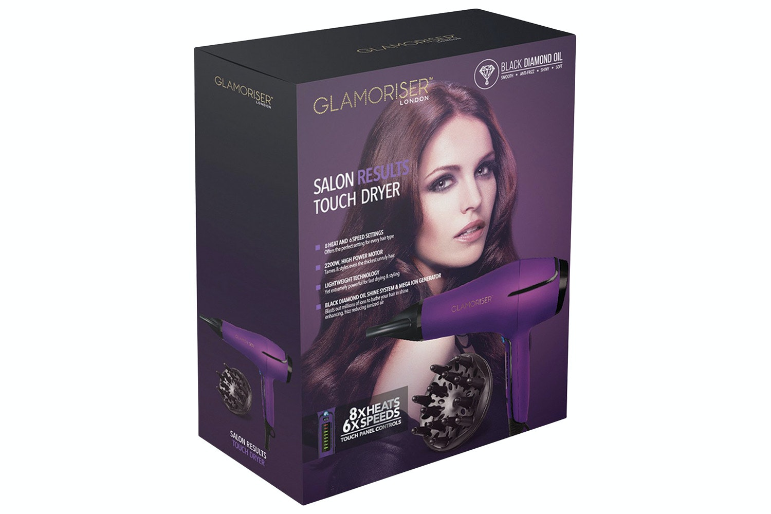 Glamoriser 2200W Salon Results Dryer | GLA032