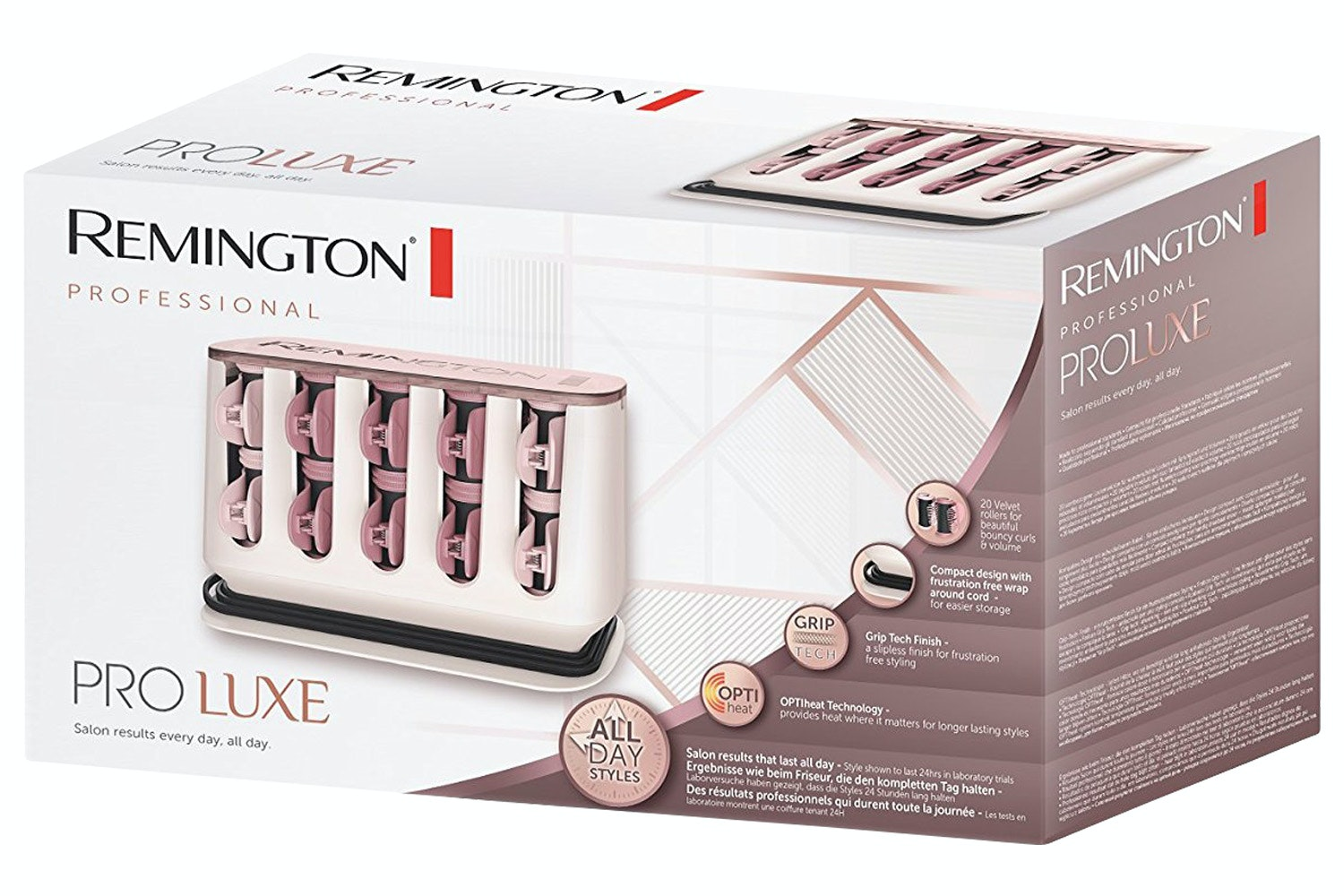 Remington Proluxe Hair Heated Rollers | H9100