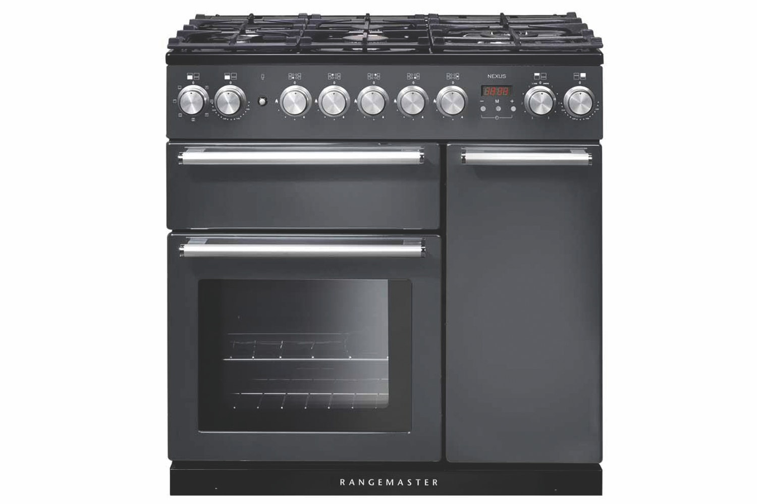 Rangemaster Infusion 90cm Dual Fuel Range Cooker | INF90DFFSL | Slate