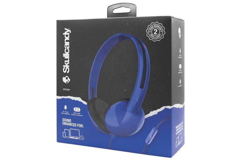 Skullcandy Stim On Ear Headphones | Blue