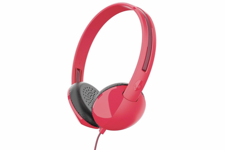 Skullcandy Stim On Ear Headphones   Red