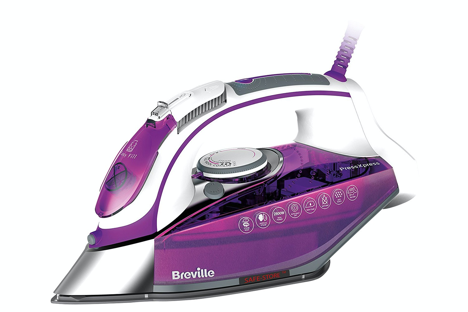 Breville 2800W PressXpress Steam Iron | VIN339