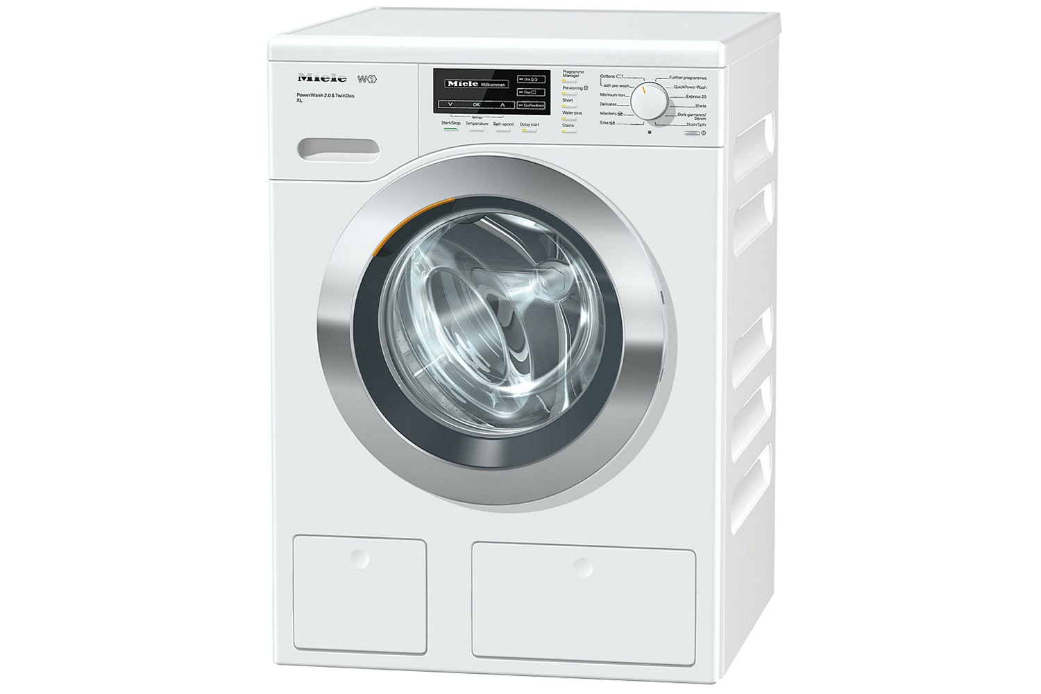 WKF322 SpeedCare XL Front-loading washing machine W1 with PowerWash system and CapDosing