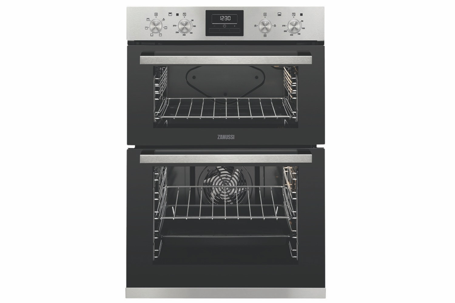 Zanussi Built-In Multifunction Double Oven | ZOD35661XK