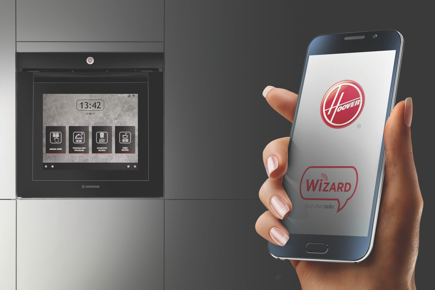 Hoover Vision 60cm Wi-Fi Touch Screen Multifunction Oven   VISION