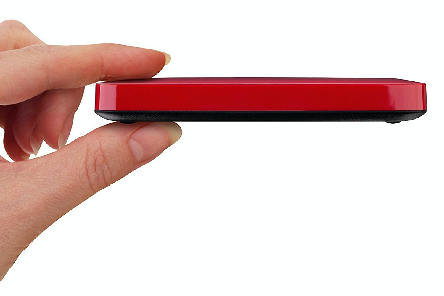 Toshiba 1TB Canvio Connect II Portable Hard Drive | Red