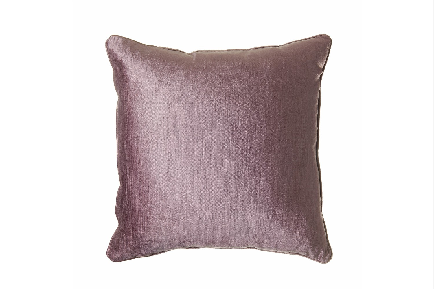 Scatterbox Velvet Sheen Duo Heather/Ivory Cushion | 45x45cm