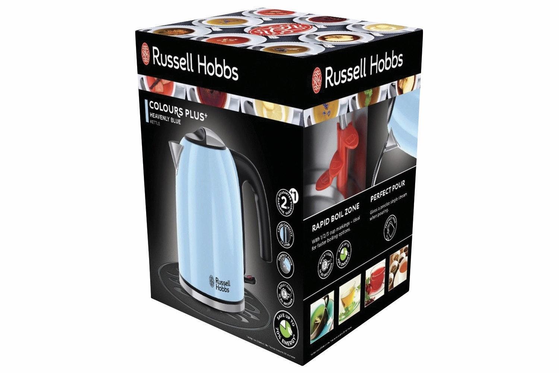 Russell Hobbs 1.7L Heavenly Blue Kettle | Blue