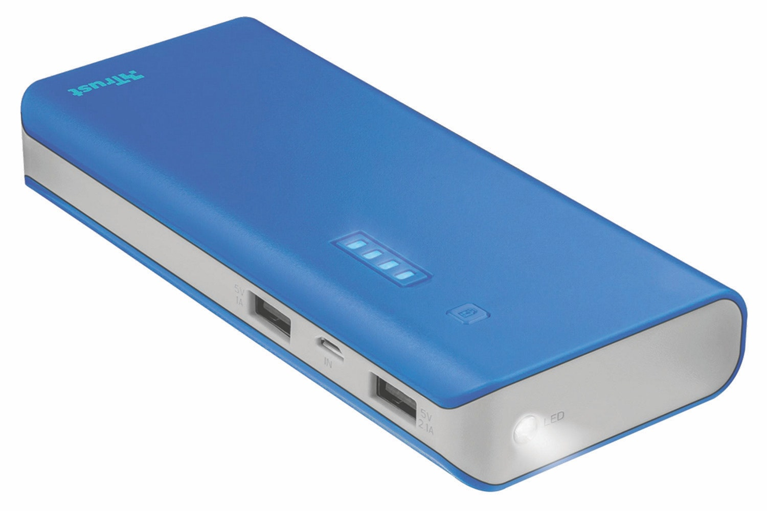 Trust Urban Primo 10000mAh Powerbank | Blue