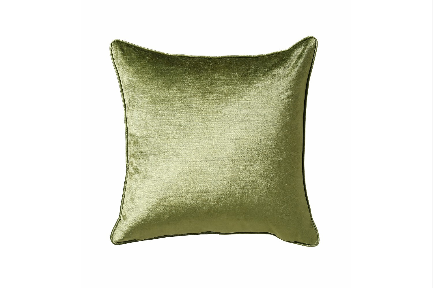 Scatterbox Velvet Sheen Duo Sage & Cream Cushion | 45x45cm