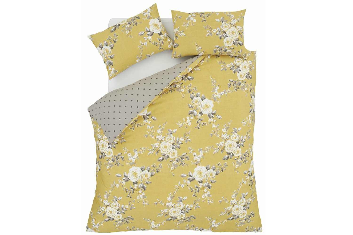 Canterbury Ochre Duvet Cover Set |  King