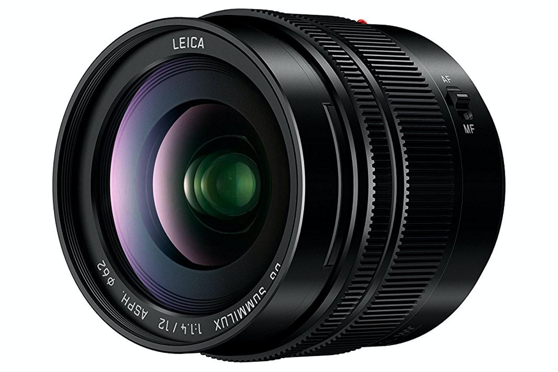 Panasonic Leica DG Summilux 12mm f/1.4 Aspherical Lens
