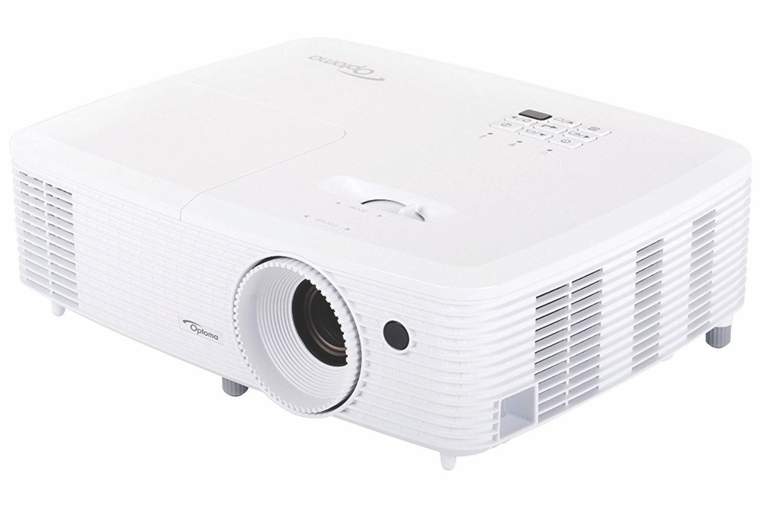 Optoma Darbee DLP Home Theater Projector | White