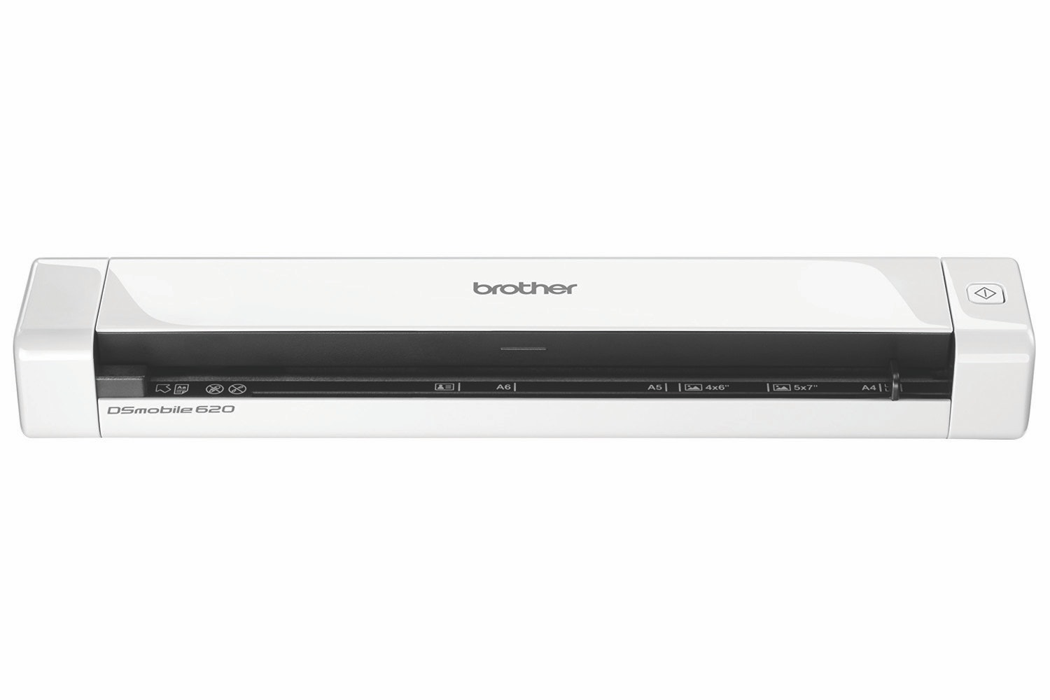Brother DS620 Portable Document Scanner | White