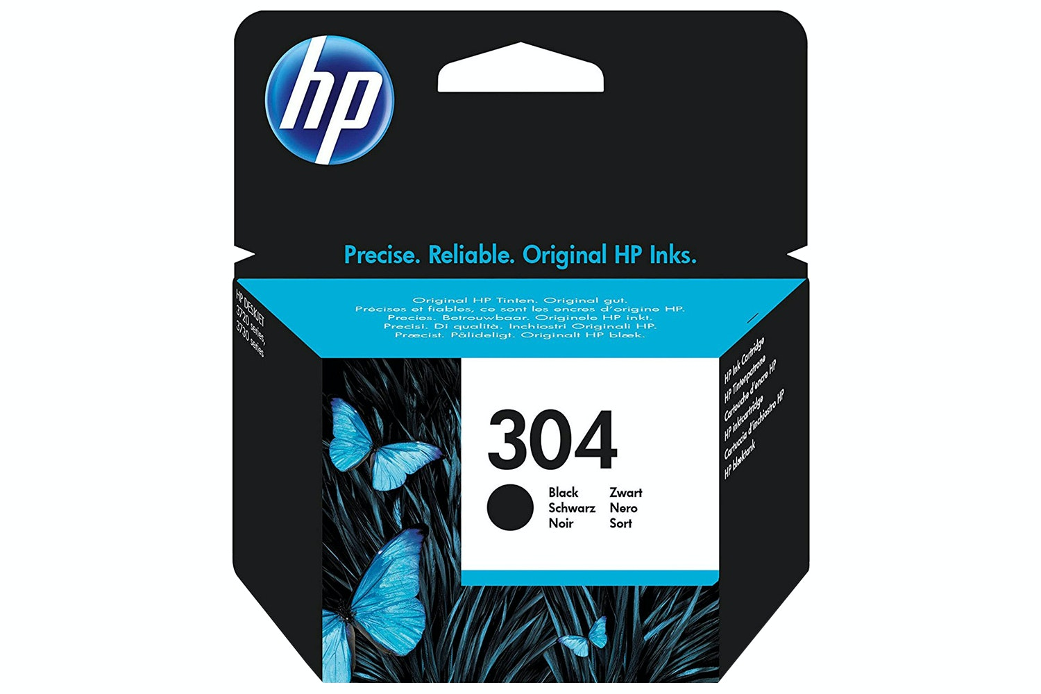 HP 304 N9K06AE Ink Cartridge | Black