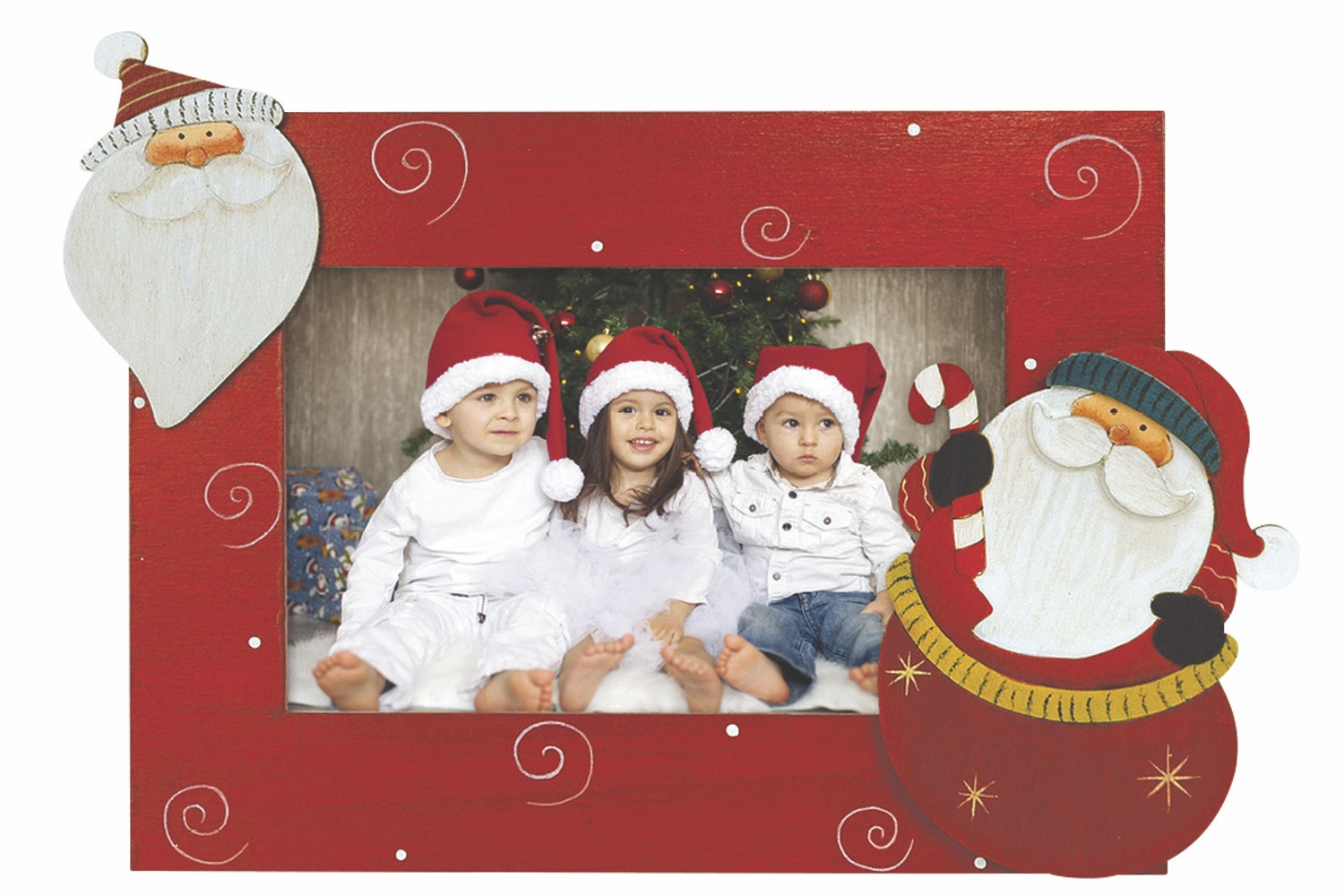 Zep Kiberg B Christmas Photo Frame | Santa