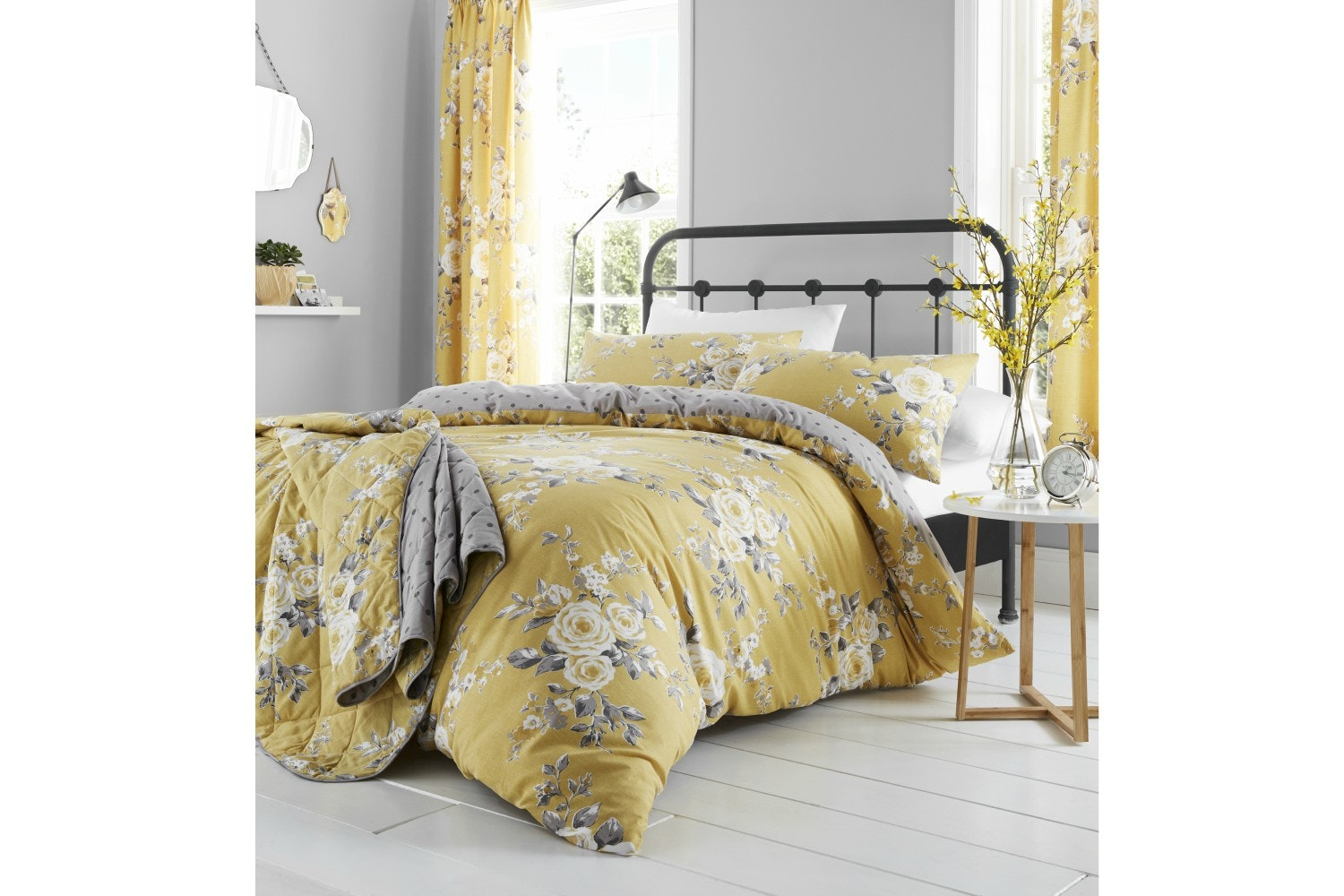 Canterbury Ochre Duvet Cover Set | Double