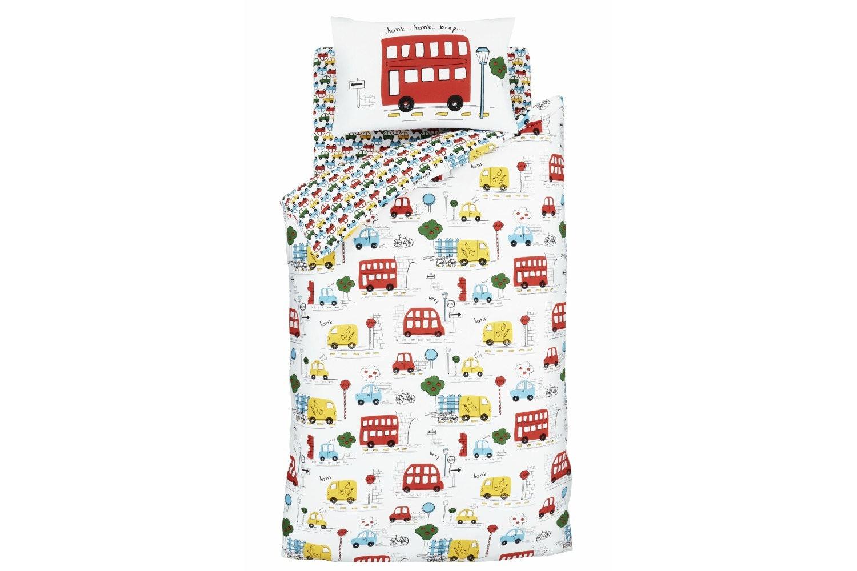 Transport Junior Duvet Cover Set