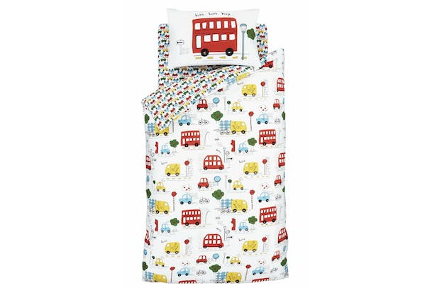 Transport Junior Duvet Cover Set