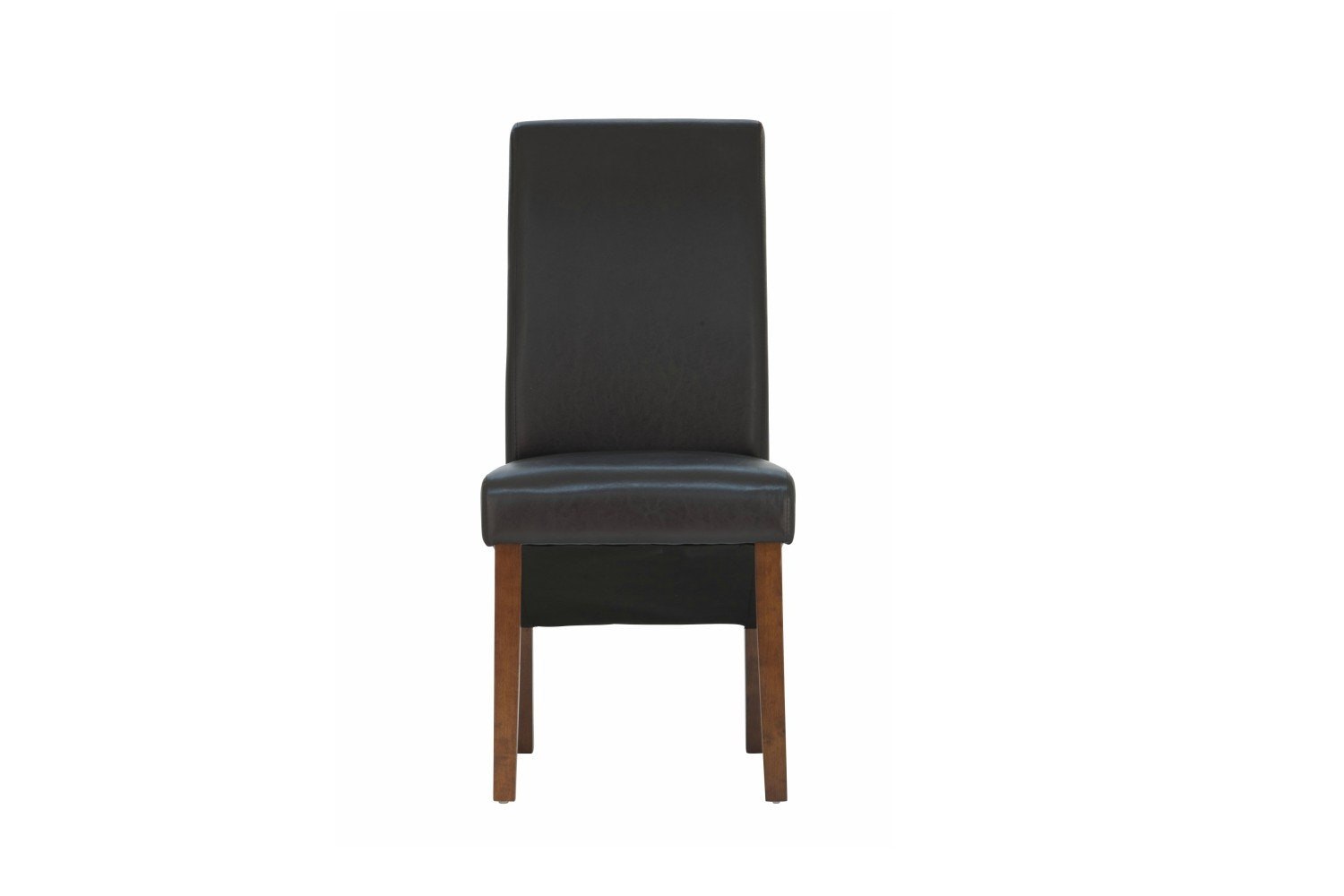 Wilton Dining Chair with Dark Leg | Dark Brown