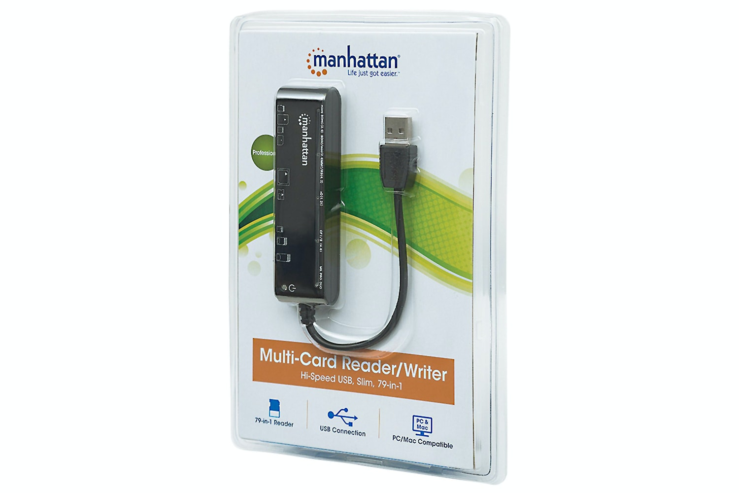 Manhattan 79-in-1 Multi-Card Reader/Writer