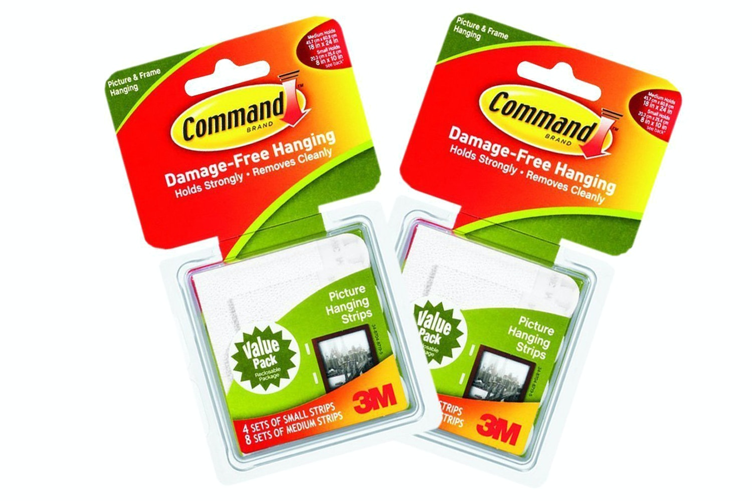 3M Command Strips Combo Pack