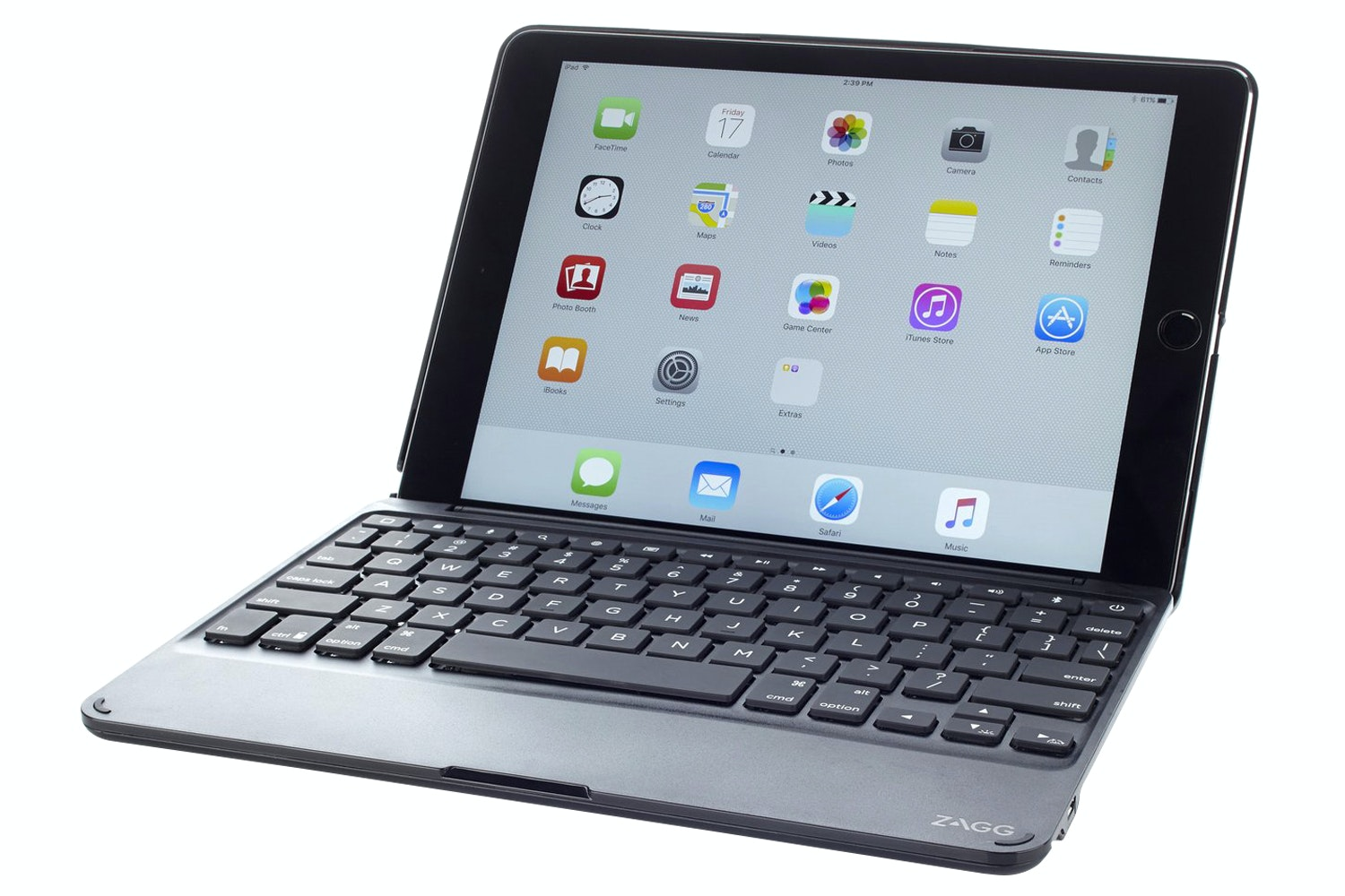 Zagg Messenger Folio Keyboard Case for iPad Pro | Black