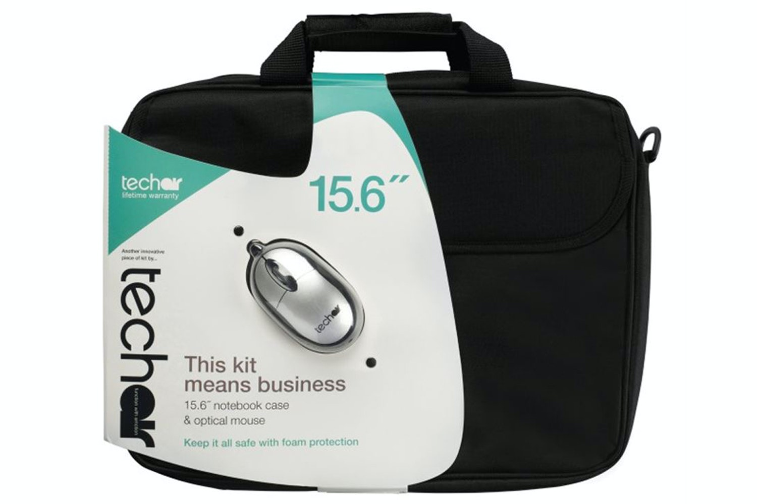 "Techair 15.6"" Laptop Bag with Wired Mouse"