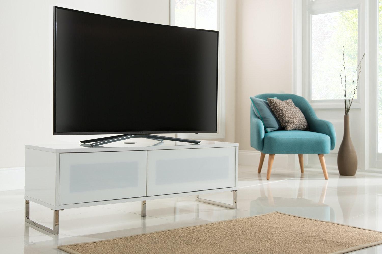 Alphason Helium TV Stand | ADHE1200-WHI