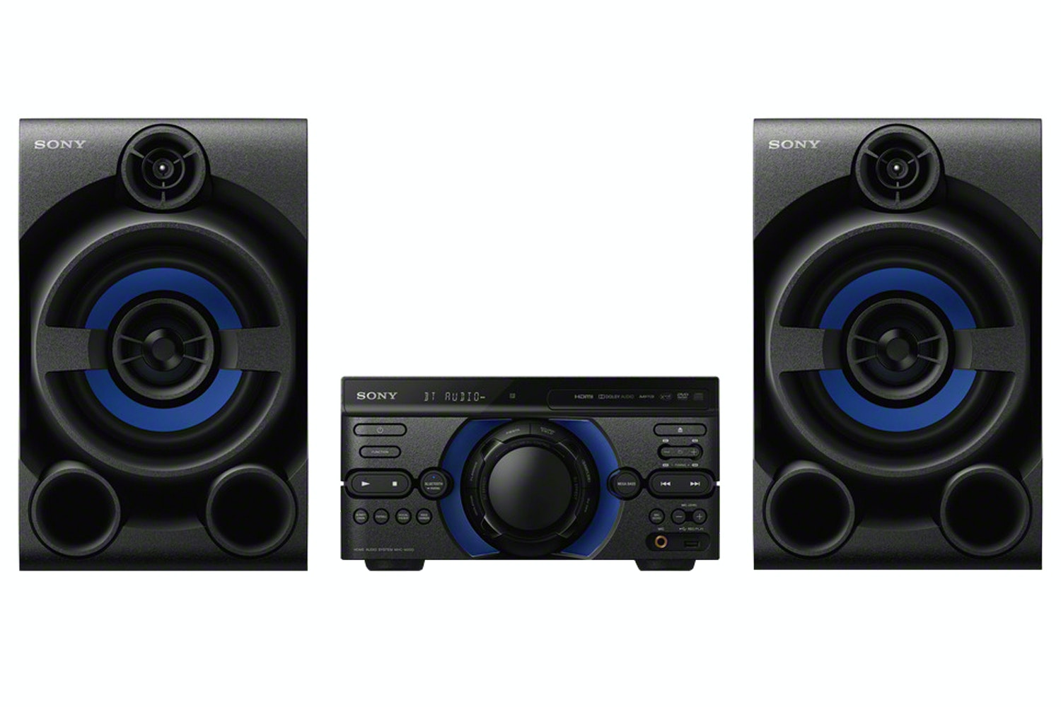 Sony High Power Three Box Music System | MHC-M20D