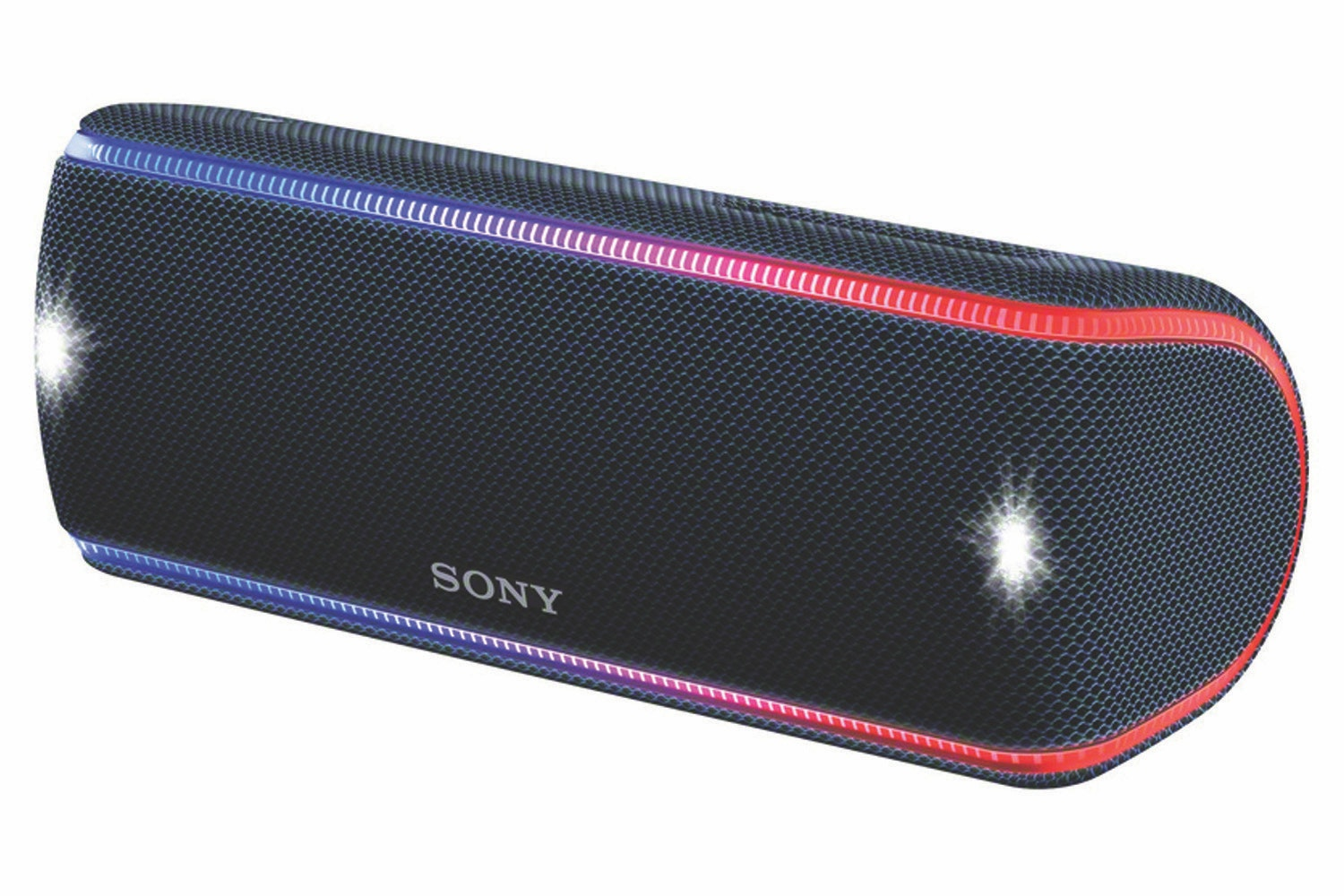 Sony SRSXB31B.CE7 Portable Waterproof Speaker with EXTRA BASS, 24 Hours Battery Life and Lighting Effects