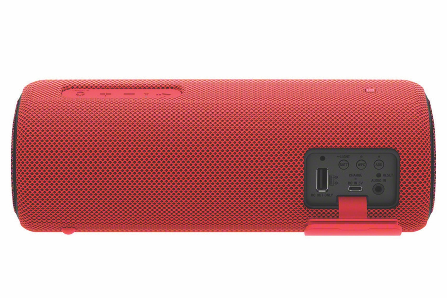 Sony SRSXB31R.CE7 Portable Waterproof Speaker with EXTRA BASS, 24 Hours Battery Life and Lighting Effects