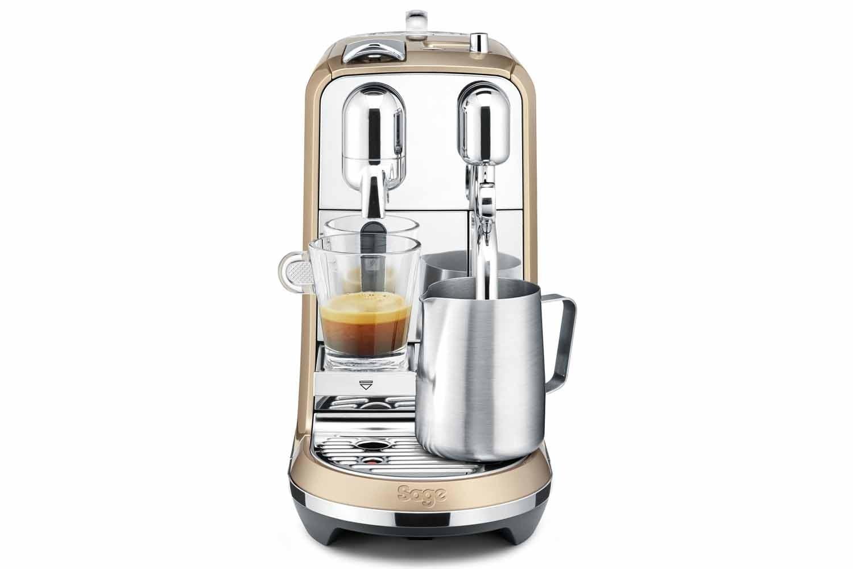 Sage Nespresso Creatista Coffee Machine | BNE600RCH