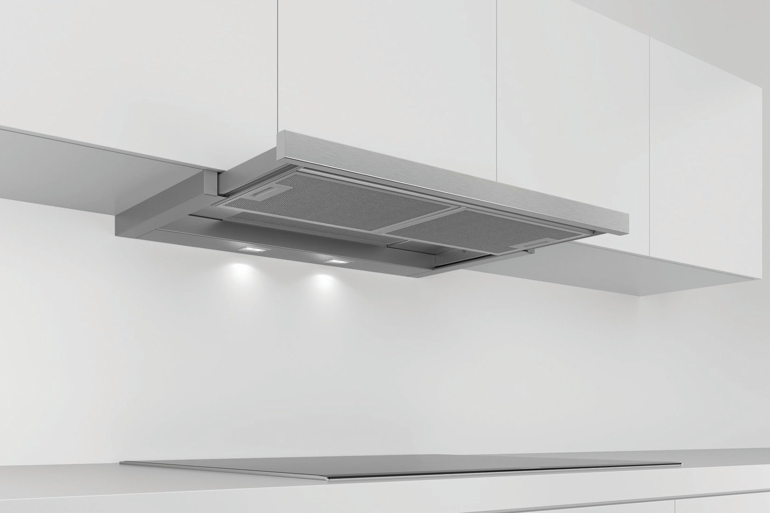Bosch Series 4 90cm Telescopic Cooker Hood | DFS097A50B