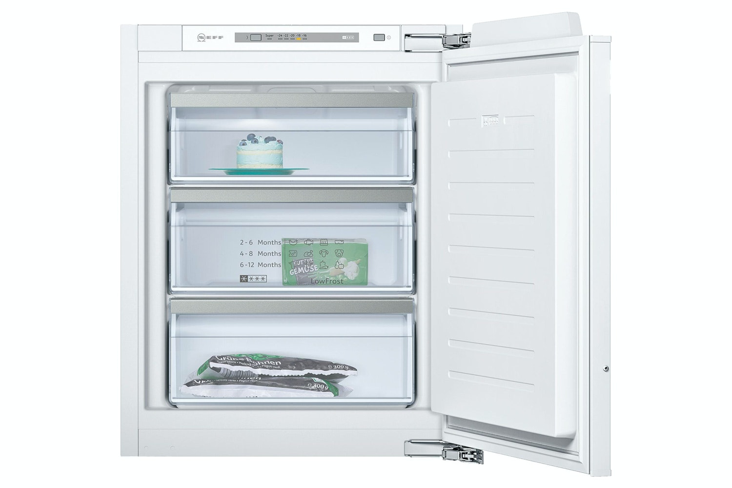 Neff 72L Built-in Upright Freezer | GI1113F30
