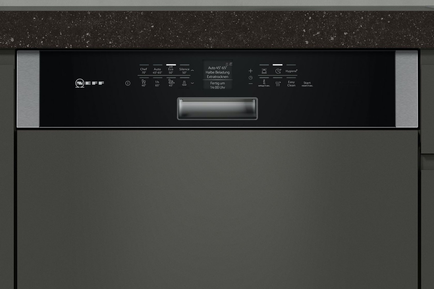 Neff Semi Integrated Dishwasher | 14 Place | S416T80S0G