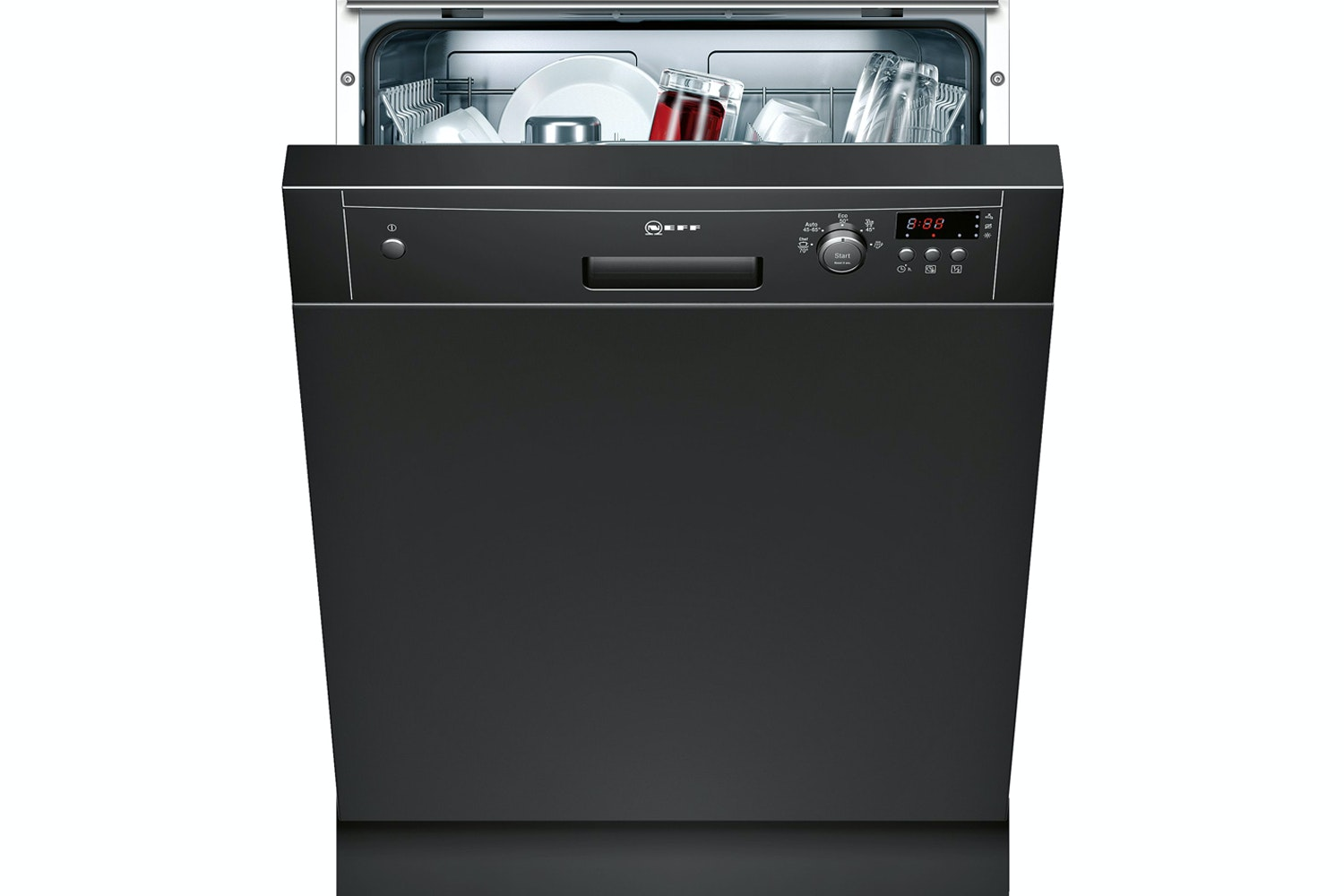 Neff Semi Integrated Dishwasher | 12 Place | S41E50S1GB