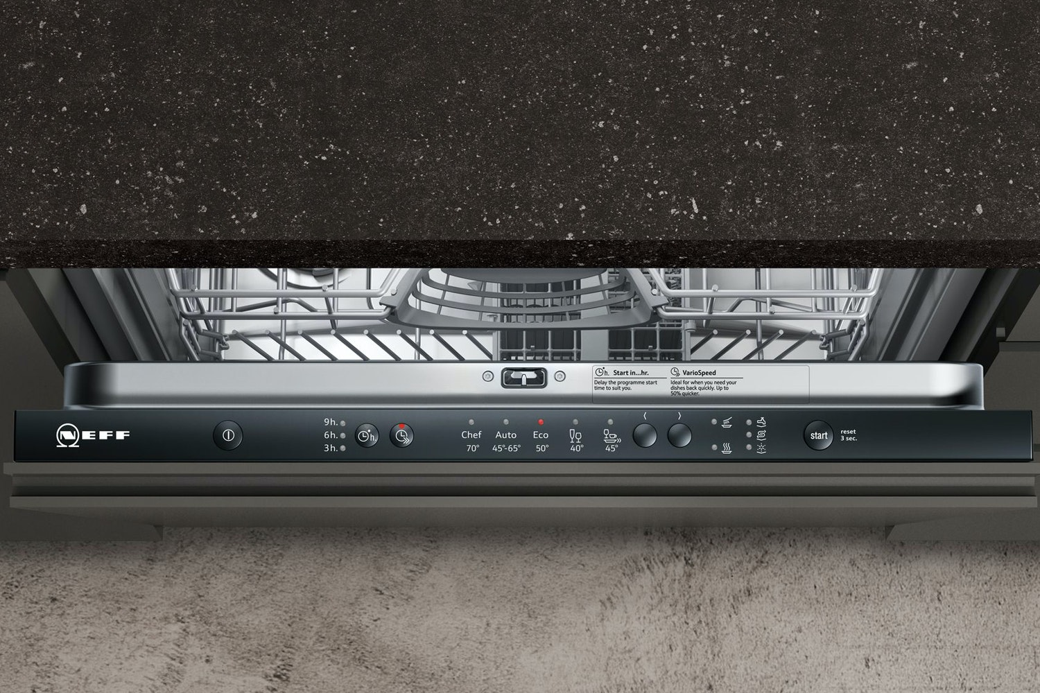 Neff Fully Integrated Dishwasher | 12 Place | S511A50X0G