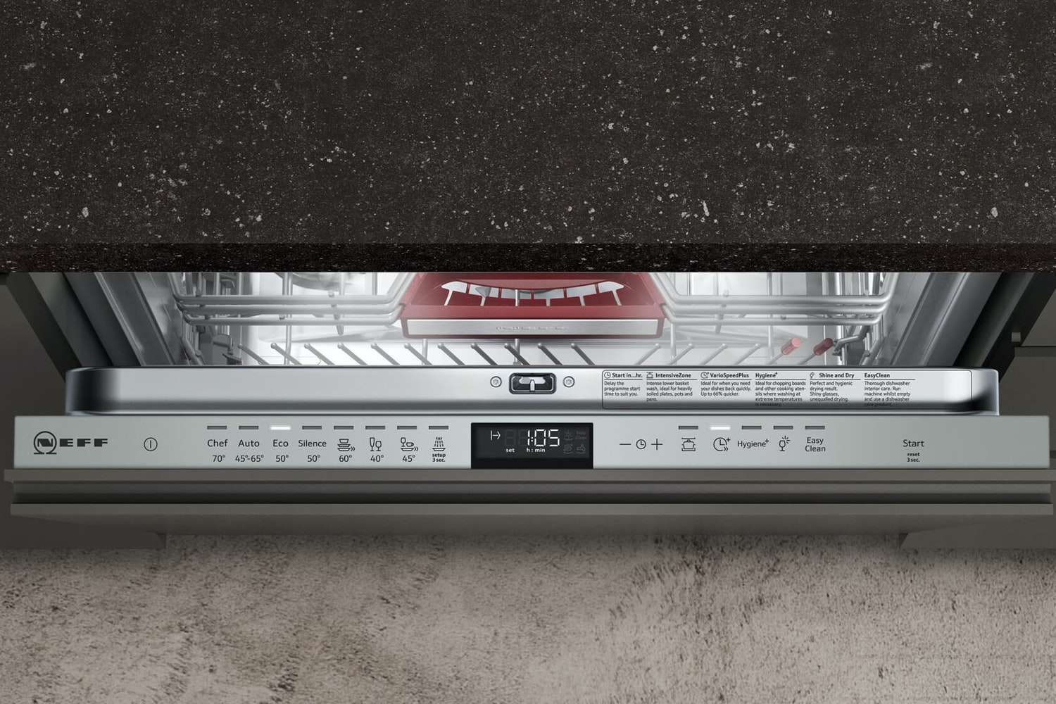 Neff Fully Integrated Dishwasher | 14 Place | S515T80D0G