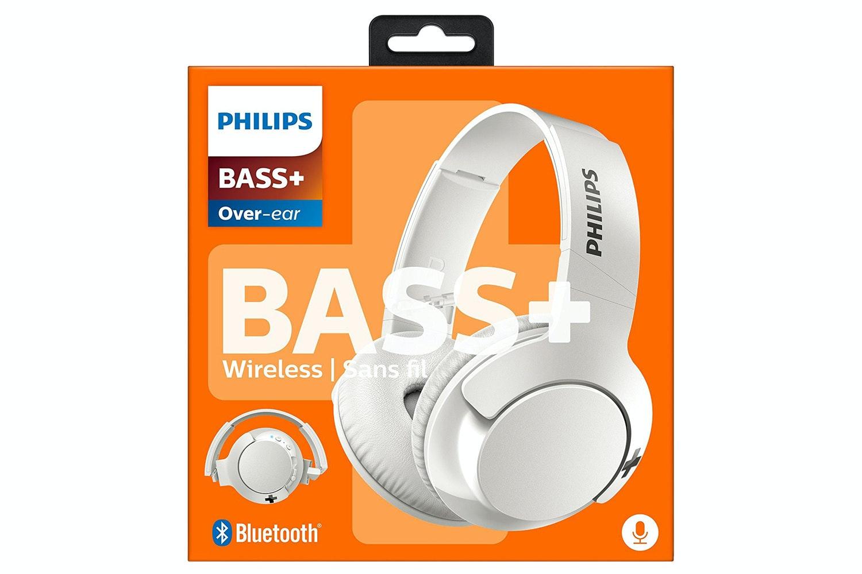Philips Wireless Bluetooth Headphones with Mic   White