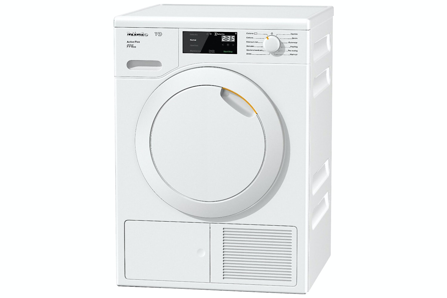 Miele TCE520WP Active Plus  T1 Heat-pump tumble dryer   A+++ and EcoDry technology for max. efficiency – for the life of your appliance