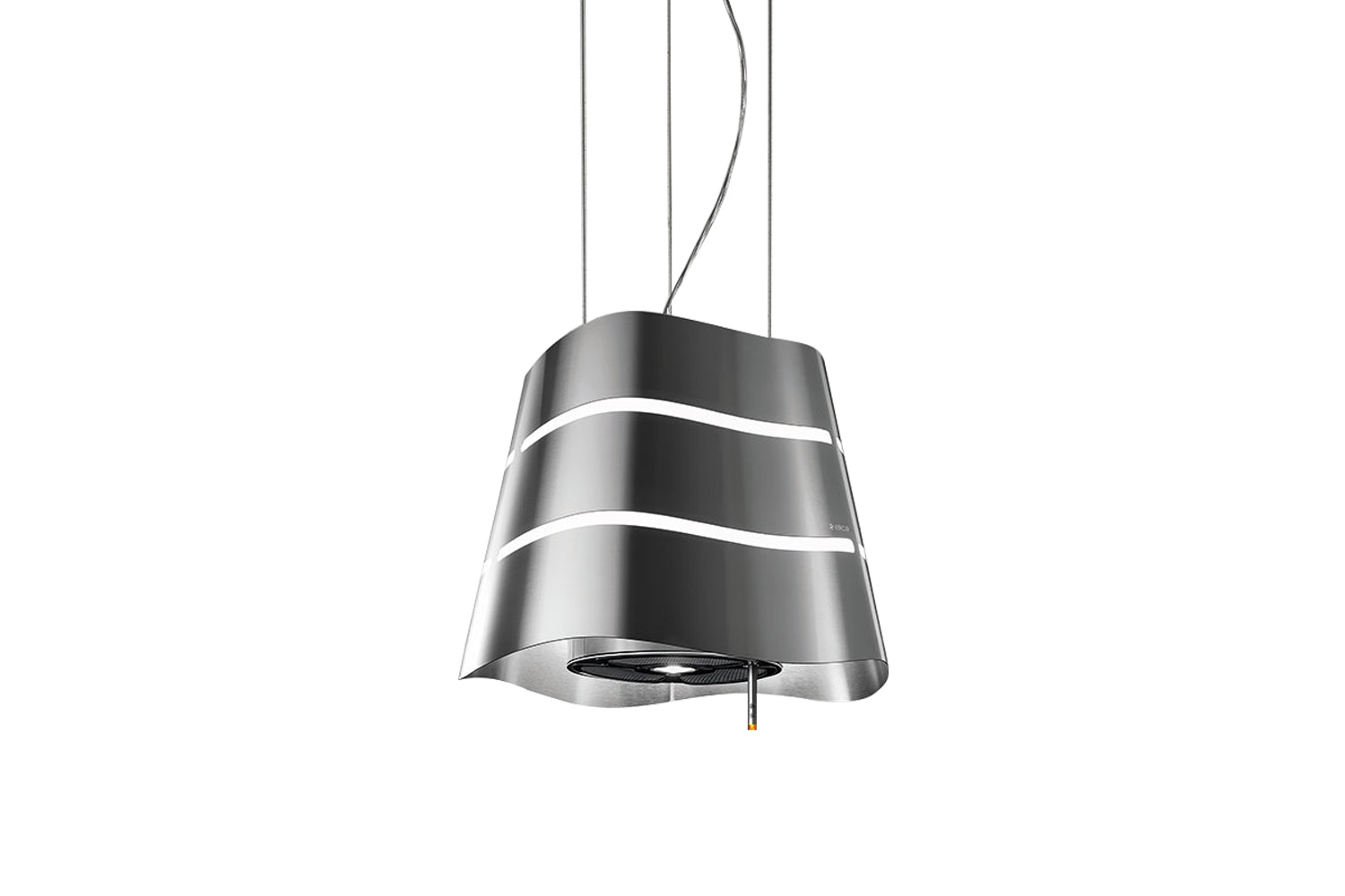 Elica 51cm Wave Island Chimney Hood | WAVE