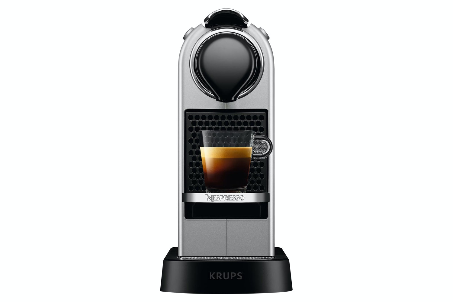 Krups CitiZ Nespresso Coffee Machine | XN740B40 | Silver