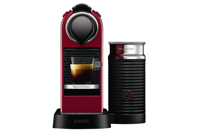 Krups Nespresso CitiZ Coffee Machine | XN760540 | Red