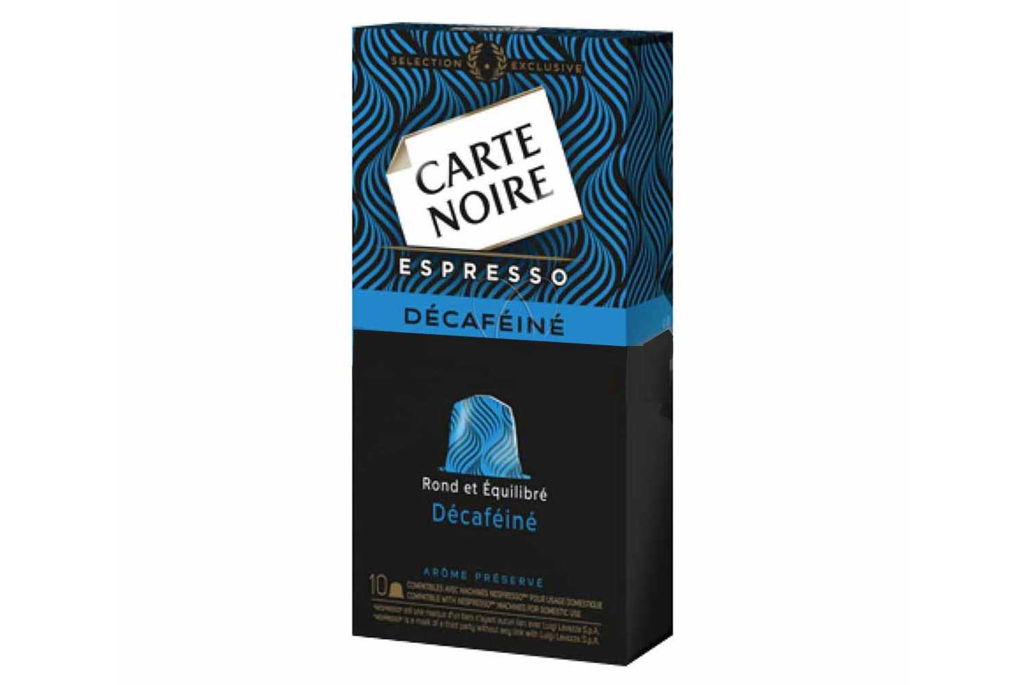 Carte Noire Decaffeinated Nespresso Coffee Capsules | 60110